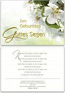 "Geburtstagskarte ""Apfelblüte"""
