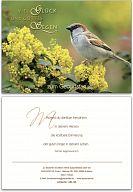 """Geburtstagskarte """"Glück u. Gottes Segen"""""""