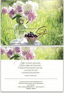 """Geburtstagskarte """"Blumenstrauß"""""""