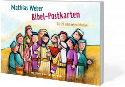 Bibel-Postkarten - Mit Bildern von Mathias Weber