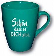 Tasse grün - Schön, dass es dich gibt