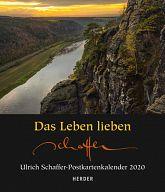 Das Leben lieben 2020 - Postkartenkalender