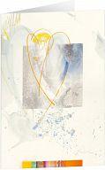 Kunst-Faltkarte - Leicht wie ein Engel