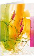 Kunst-Faltkarte - Frühlingserwachen