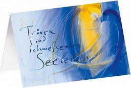 Kunst-Faltkarte - Trost für die Seele