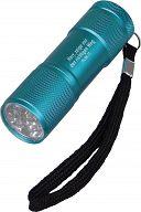 LED-Taschenlampe blau