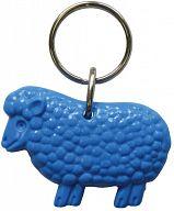 Schlüsselanhänger Schaf, blau