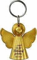 Schlüsselanhänger Engel, gold