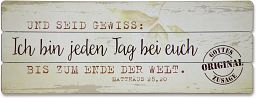 "Vintage-Wandbild ""Bei euch"""