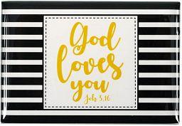 """Magnet """"God loves you"""""""