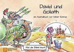 Mal die Bibel bunt - David und Goliath