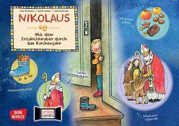 Kamishibai Bildkartenset Don Bosco - Nikolaus