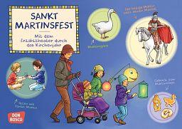 Kamishibai Bildkartenset - Sankt Martinsfest