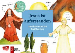 Spielfiguren - Jesus ist auferstanden
