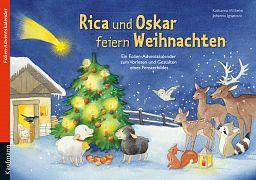 Adventskalender: Rica und Oskar feiern Weihnachten