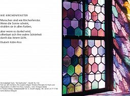 Leipziger Karte: Kirchenfenster