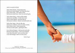 Taufurkunde: Kinderhand