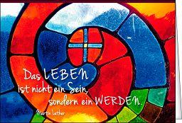 Leipziger Spruchkarte - Entfaltung