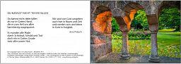 Leipziger Karte: In Gottes Hand, Trauerkarte