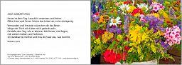 Leipziger Karte: Zum Geburtstag