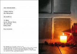 Leipziger Karte, Weihnachtskarte: Leuchten
