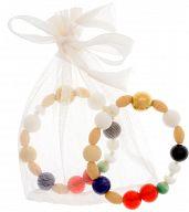Perlen des Glaubens aus Glas, mit Broschüre, für Erwachsene