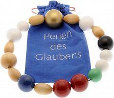 Perlen des Glaubens aus Holz (groß)