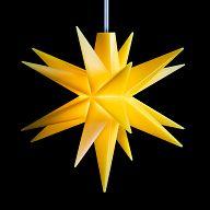 Leuchtstern - Baby-Stern 8cm gelb