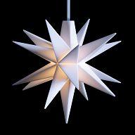 Leuchtstern - Baby-Stern 8cm weiß