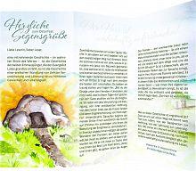 Leporello - Ostergruß