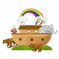 Bastelbogen - Arche Noah
