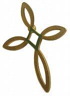 Anstecker Ichthys-Kreuz Pin, eisern