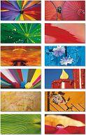"Motivkarten-Blöcke ""Farben"", Foto-Postkartenblock"