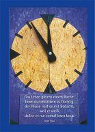 """Notizbuch, Tagebuch """"Uhr"""""""