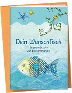 Der Wunschfisch - Grußkarte Dein Wunschfisch