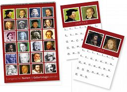 Evang. Geburtstags- & Namenkalender