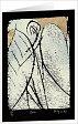 10erSet Trauer und Trost - Kunst Faltkarten
