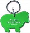 Schlüsselanhänger Schaf, grün