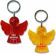 Schlüsselanhänger Engel, orange, Sei behütet