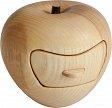 Apfel aus Laubholz mit Schublade