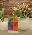 Lichtsymbol: Farbkreuz Lebensfarben