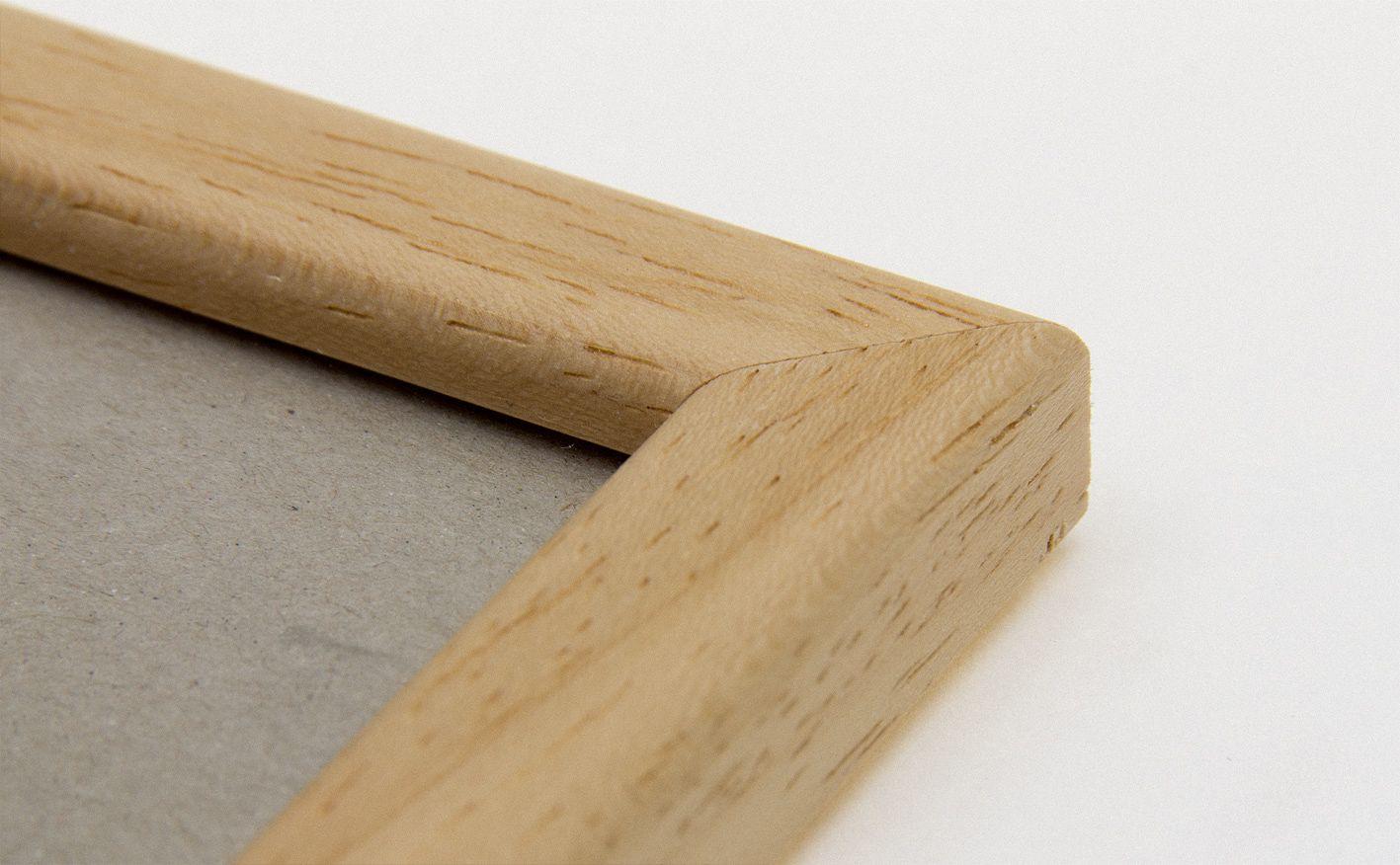 Bilderrahmen aus Holz, natur, A4, mit Profilleiste kaufen