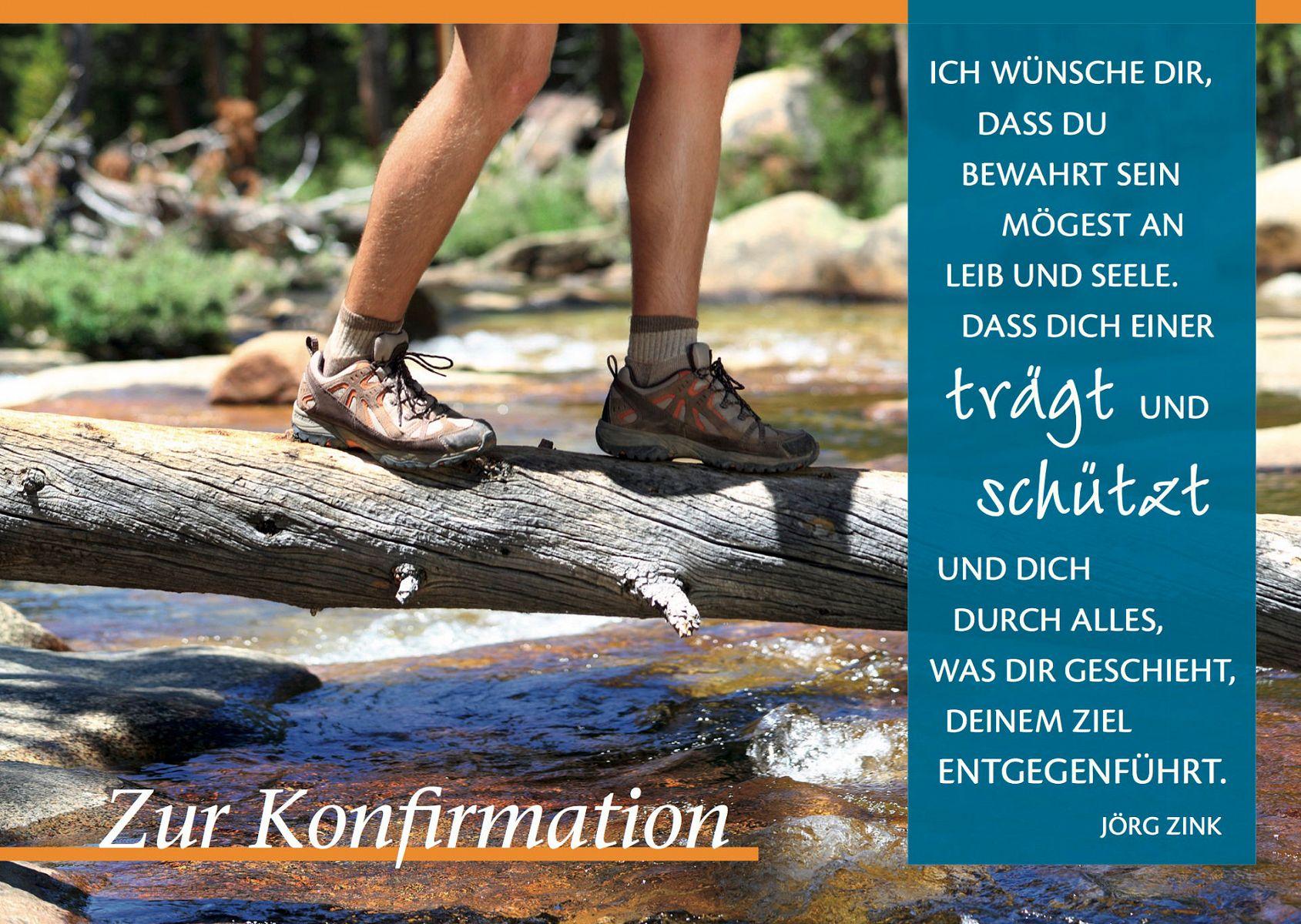 Leipziger Konfirmationskarte Zur Konfirmation